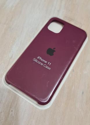 Чехол silicone case на айфон  iphone 11