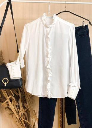 Рубашка в винтажном стиле от mango