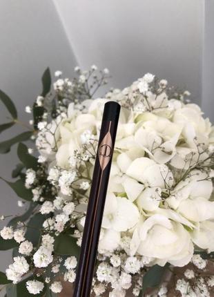 Олівець для очей charlotte tilbury rock 'n' kohl eye pencil, карандаш для глаз5 фото