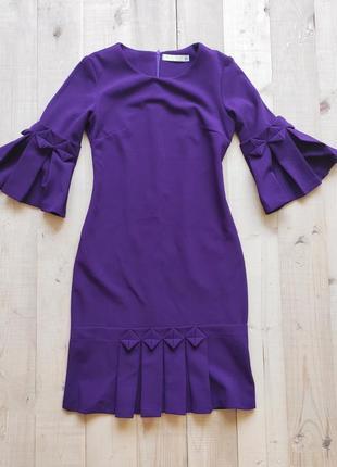 Красивое облегающее платье мини