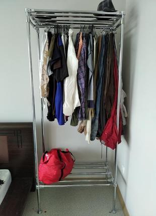 Открытый шкаф торговое оборудование стойка для одежды