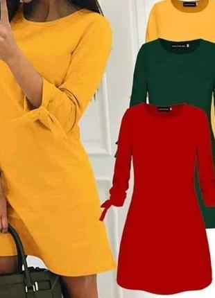 Сукня трапеція. різні кольори. розміри 24-70