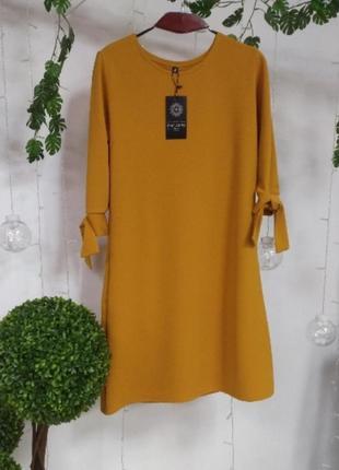 Сукня трапеція. різні кольори. розміри 24-702 фото