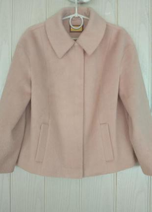Красивое пальто, шерсть, мохера