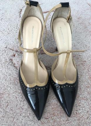 Туфли женские кожа 38-39 размер