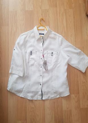 Женская рубашка,натуральный лен.