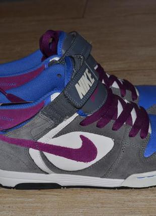 Nike 38/5р кроссовки сникерсы оригинал. кожаные.