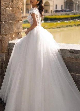 Свадебное платье (совсем новое, не б/у)2 фото