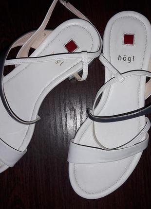 Кожание сандали фирмы hogl