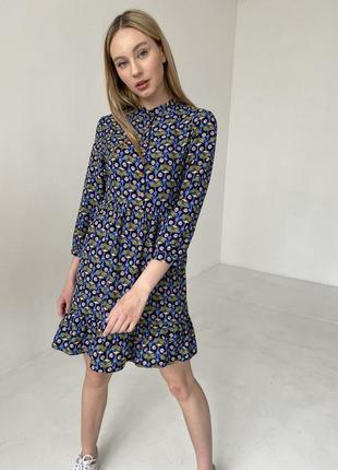 Сукня з принтом в квіти 🌸