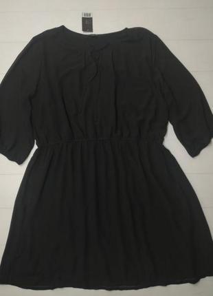 """""""распродажа""""модное платье шифоновое на подкладке esmara  размер 36 ( европейский)"""