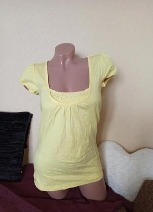 Туника edc yellow, туника футболка жёлтая