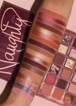 Палетка huda beauty naughty nude eyeshadow palette оригинал бесплатная доставка нп