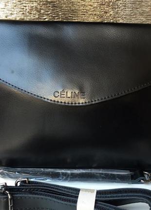 Брендовая кожаная сумка celine - классика всех селебрити