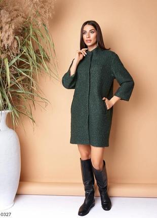 Пальто женское букле барашек