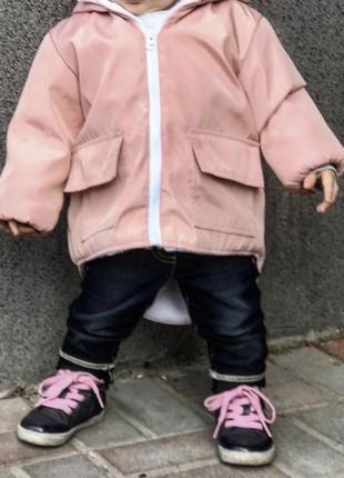 Куртка парка на девочку