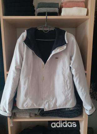 Курточка-вертовка двусторонняя на флисе от ellesse !!!
