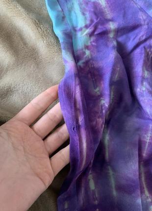 Плаття - плащ в стилі тай дай prettylittlething6 фото
