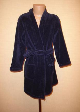 Флисовый халат на 5-6 лет f&f