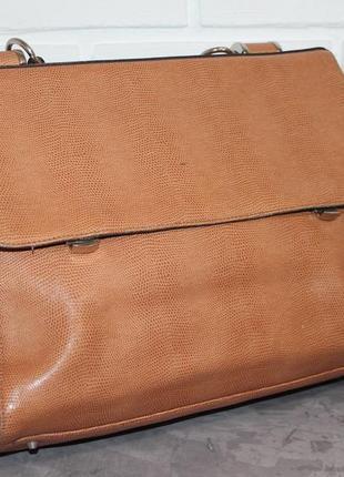 Кожаная сумка портфель от итальянского бренда cromia