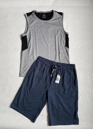 Комплект спортивной одежды майка + шорты crivit