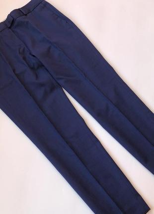 Брюки gant штаны темно- синие , 36 р