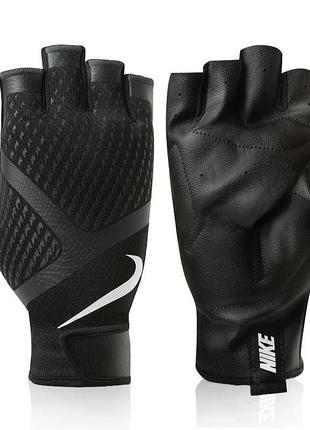 Перчатки для фитнеса nike mens renegade training gloves, nlgb5-031, черный цвет, м размер