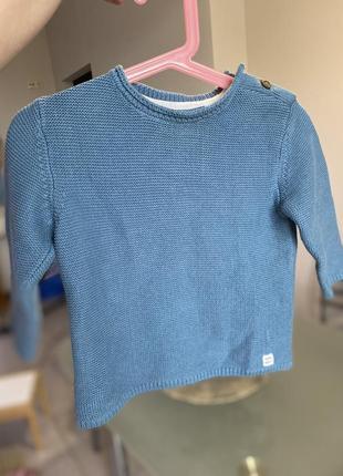 Хлопковый свитеров zara