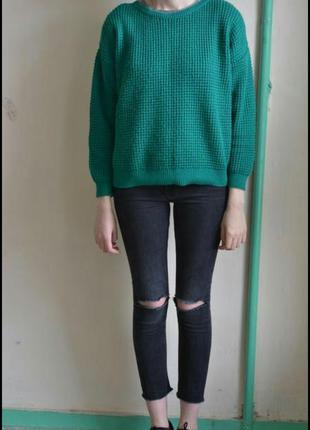 Яркий, теплый свитер от topshop