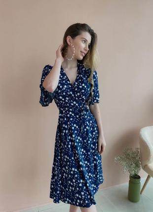 Платье с цветочным принтом (все расцветки)