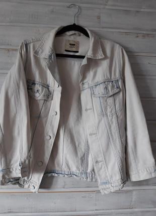 Джинсовка, куртка джинсовая bershka 44-46