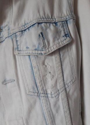 Джинсовка, куртка джинсовая bershka 44-463 фото