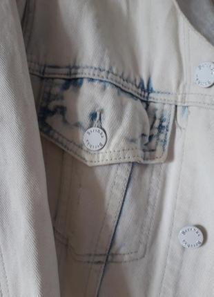 Джинсовка, куртка джинсовая bershka 44-462 фото