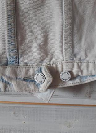 Джинсовка, куртка джинсовая bershka 44-464 фото