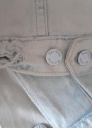 Джинсовка, куртка джинсовая bershka 44-465 фото