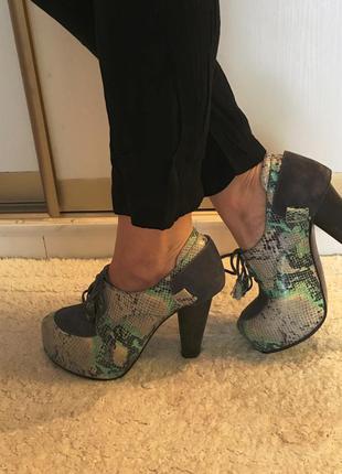 Кожаные ботиньелы: attizzare
