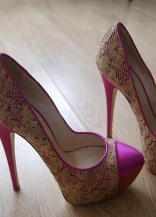 Туфли casadei vero cuoio