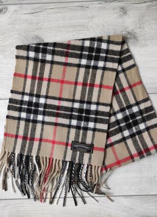 Оригинальный шарф james pringle weavers 100% шерсть