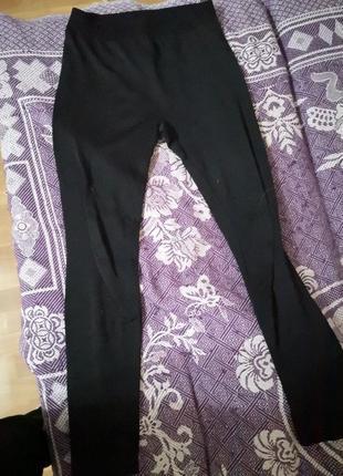 Чёрные  лосины, леггинсы , штаны, гамаши, колготы