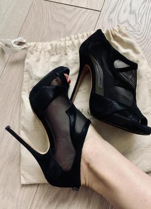 Туфли jimmy choo чёрные