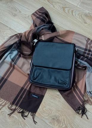 Мужская сумка-планшет💣🔥💥(шарф в продаже)