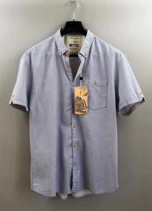 Стильна чоловіча сорочка бренду tom tailor