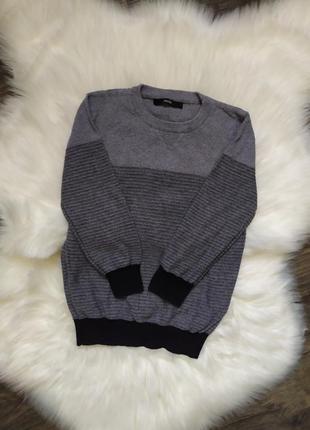 Джемпер, тонкий свитер, мальчик, 6-7 лет, 116-122, george