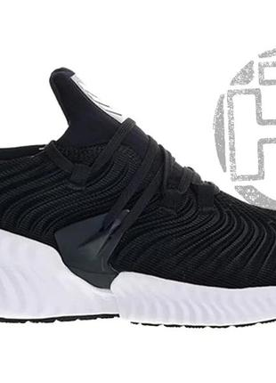 Мужские кроссовки adidas alphabounce instinct black white b76036