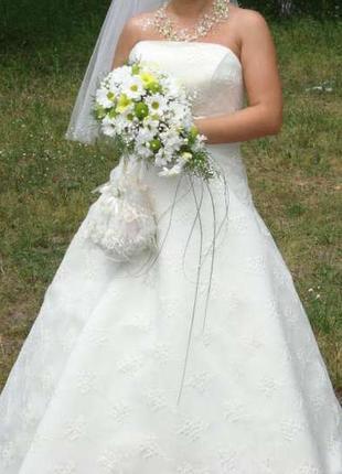 Свадебное, нарядное платье