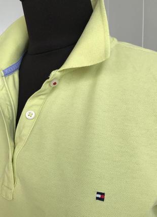 Базовая футболка поло tommy hilfiger