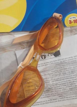 Детские фирменные очки для плавания.
