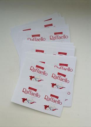 Набор наклеек raffaello 107 шт