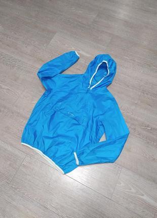 Непромокаемая куртка/дождевик ветровка decathlon quechua рост 150-165