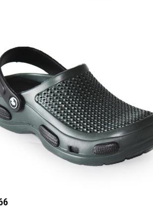 Сабо, кроксы мужские, хаки, р. 41-44; медицинская обувь, 115566